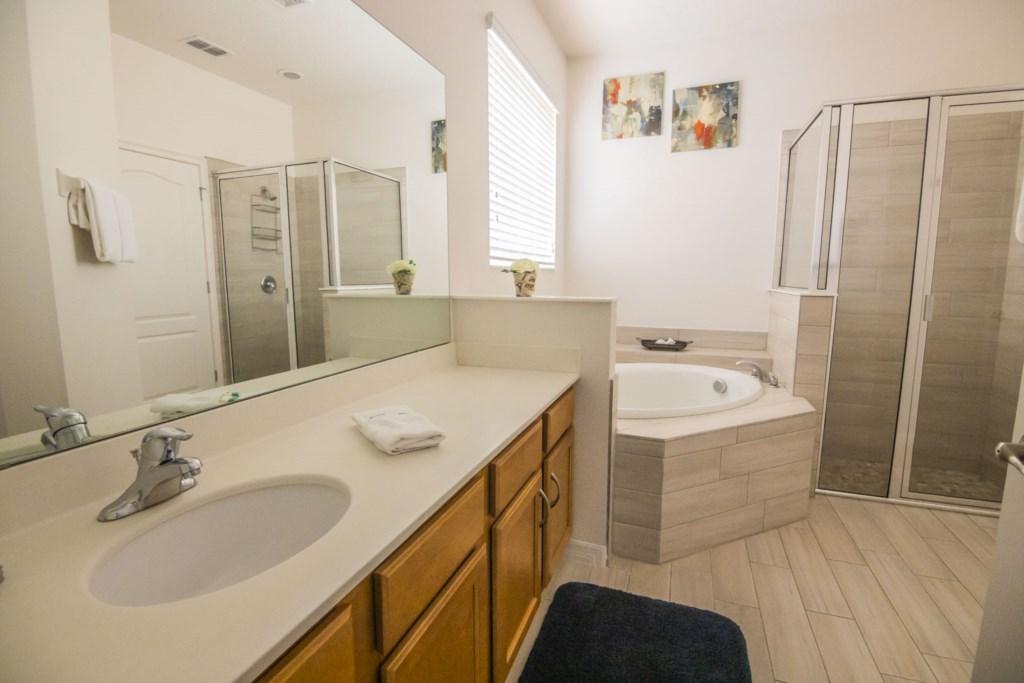 Vacation Home Master Bathroom 1