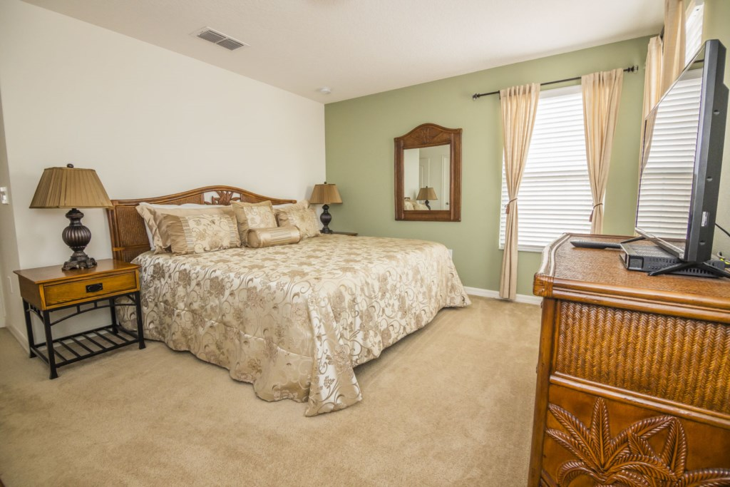 Vacation Home Master Bedroom 2