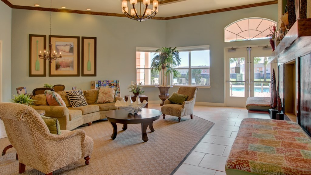 Coral Cay Clubhouse Interior