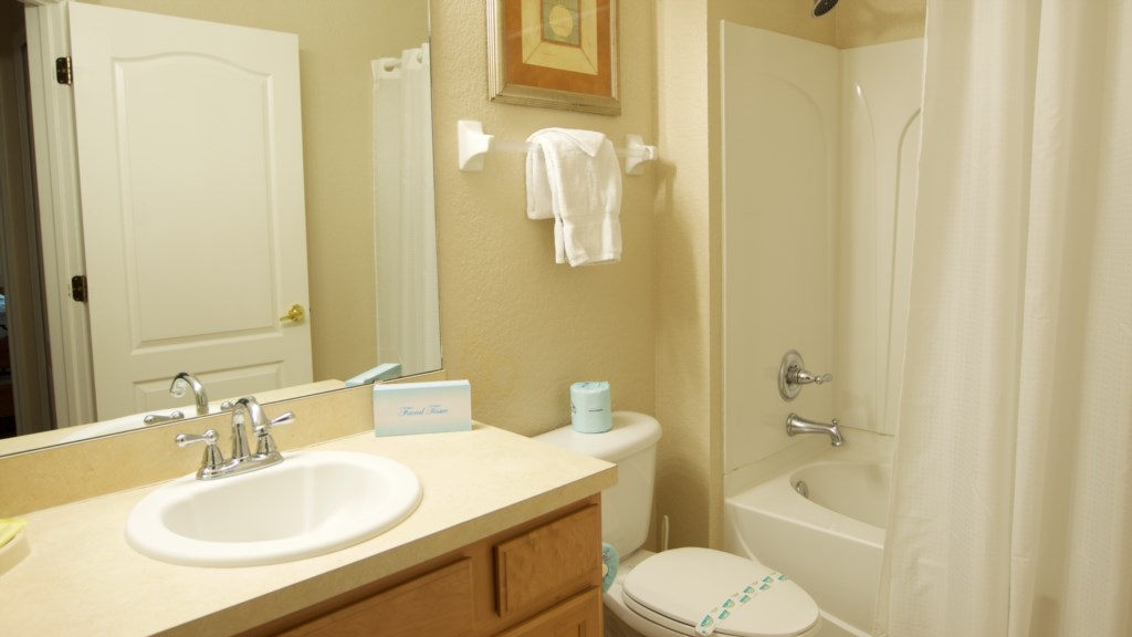 Vacation Townhome Bathroom 3