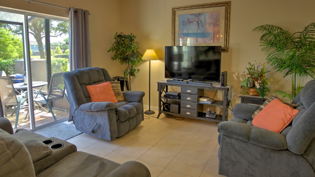 Vacation Townhome Living Area