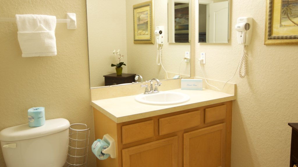 Vacation Townhome Master Bathroom