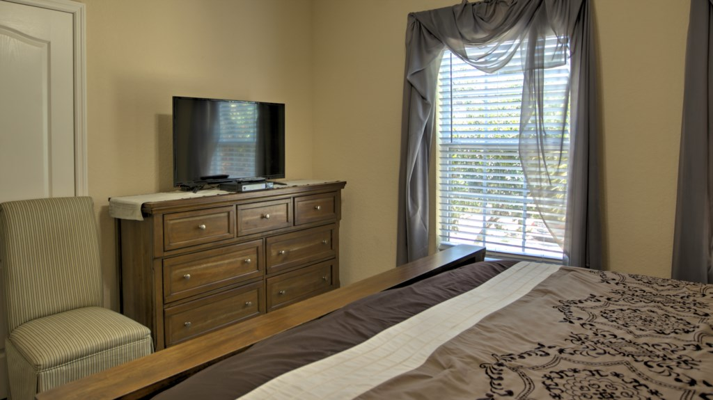 Vacation Townhome Master Bedroom