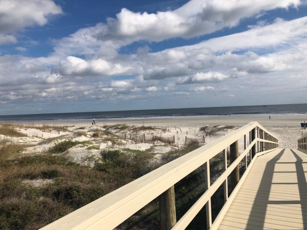 Beach Walkover