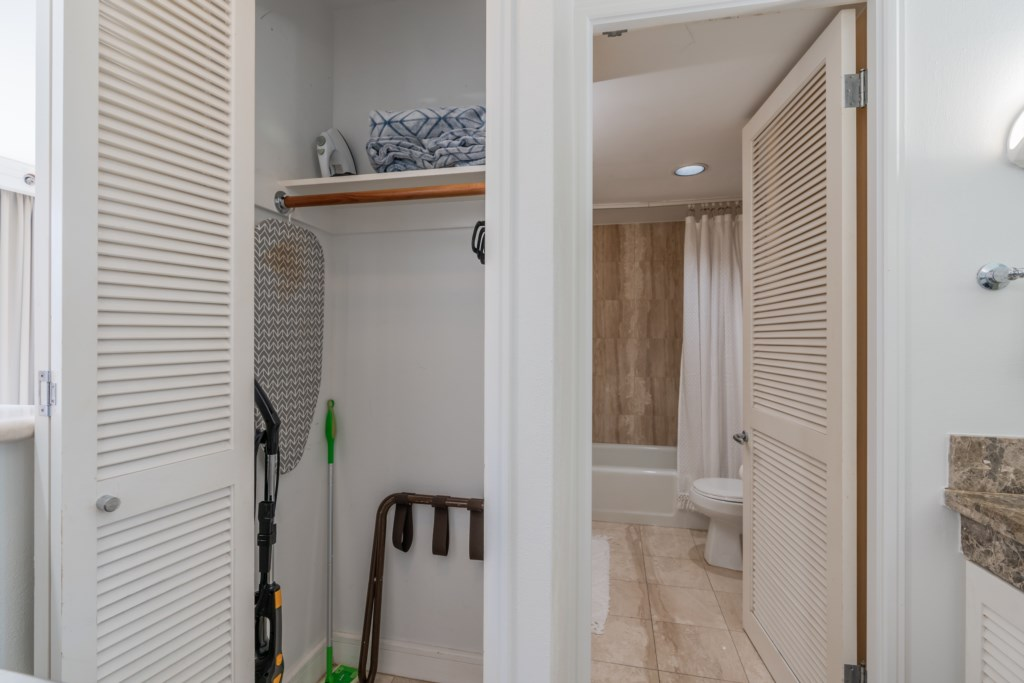 View of Closet Space