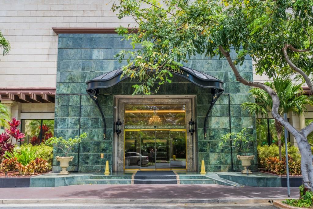 Royal Garden Exterior Entrance