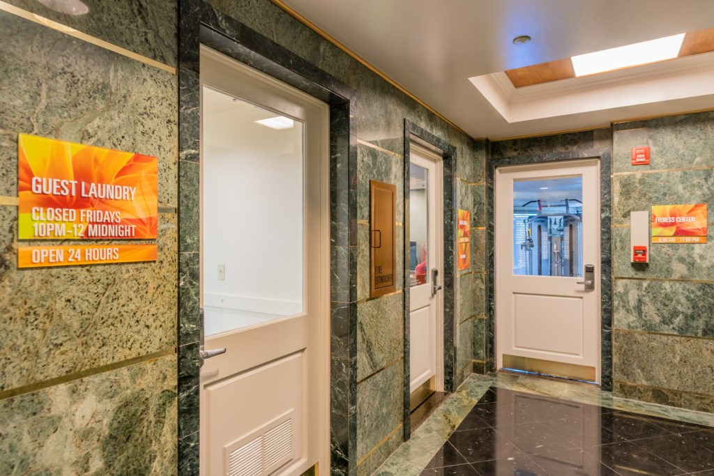 Entrance to Community Laundry Room