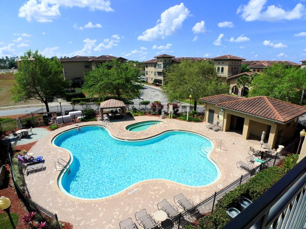 Enjoy the Beautiful Resort Pool