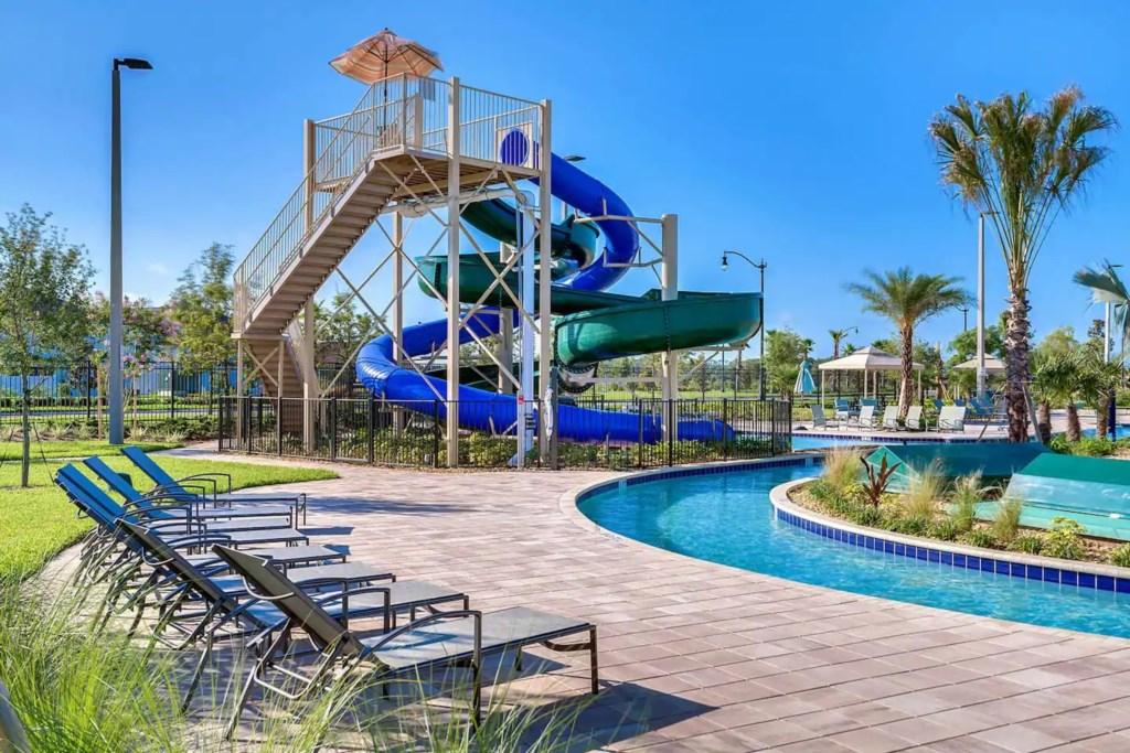 Resort slides