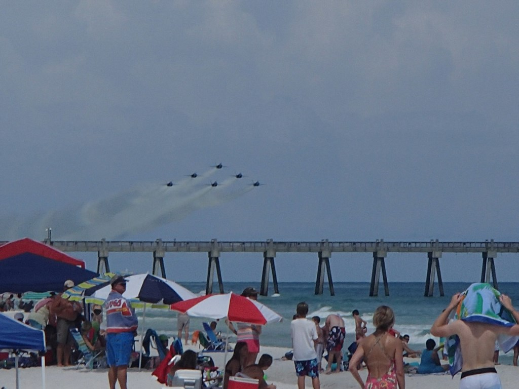 The Pensacola Beach Air Show takes place every July