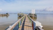 Watch the boats go by on Pensacola Bay