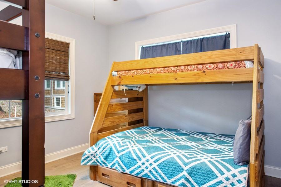 Bedroom #3 (Full & Three Twins(