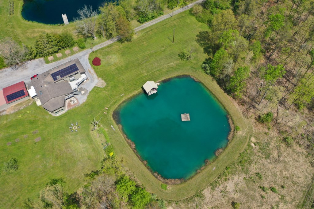 Another aerial view of the pond for your enjoyment.