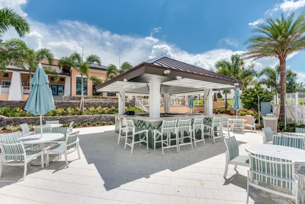 Outdoor Pool Bar