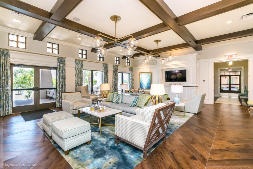 Solara Resort Indoor Lounge