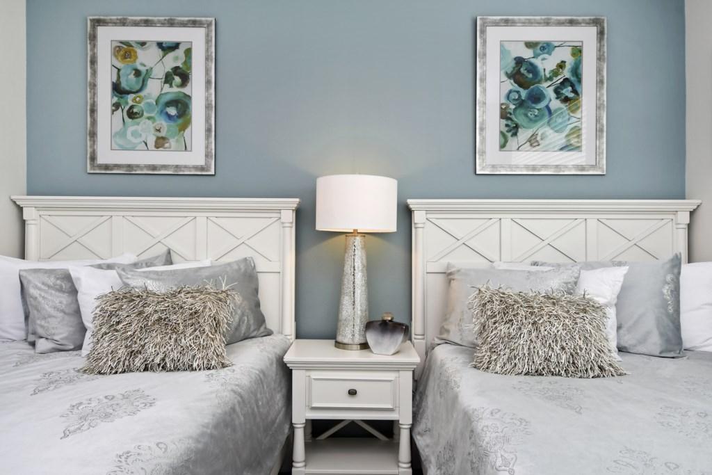1st Floor bedroom with ceiling fan