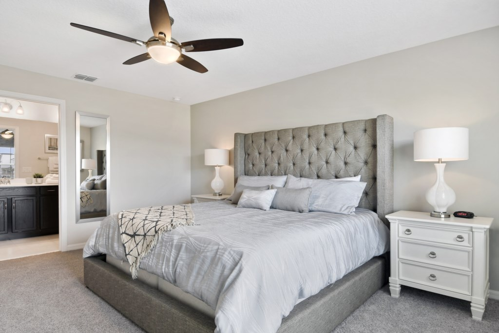 Master Bedroom - away from other bedrooms