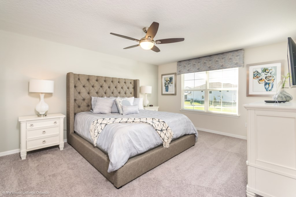 Master Bedroom - we also have a Pack-n-Play