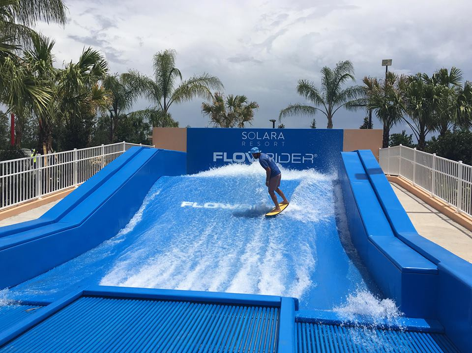 Flow Rider Simulated Surfer