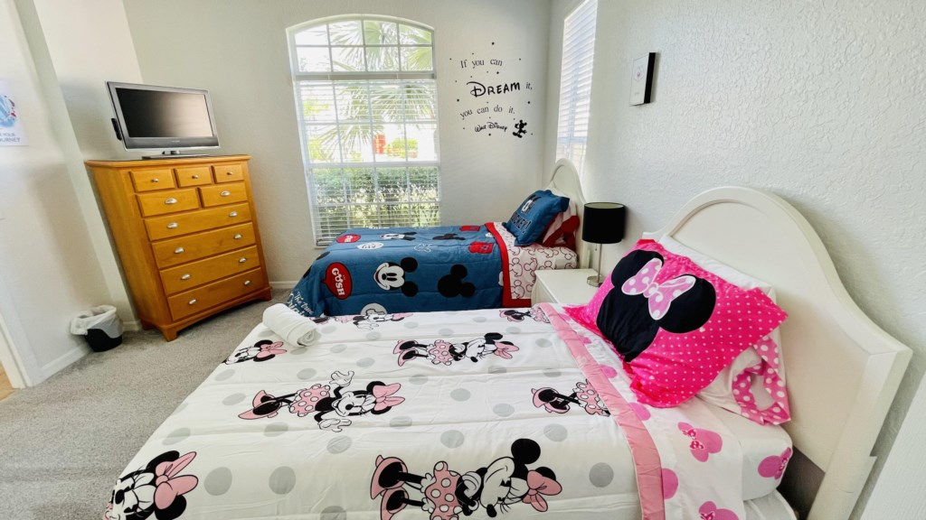Downstairs Mickey Theme Bedroom