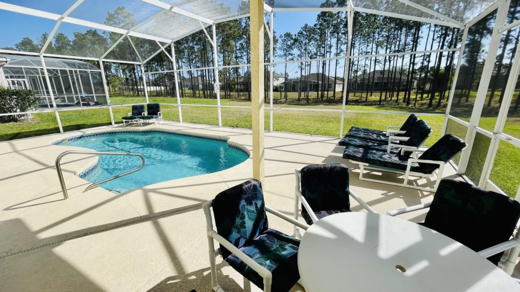 Pool with Covered Lanai