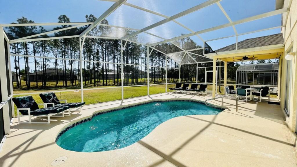Pool Area - No Rear Neighbors