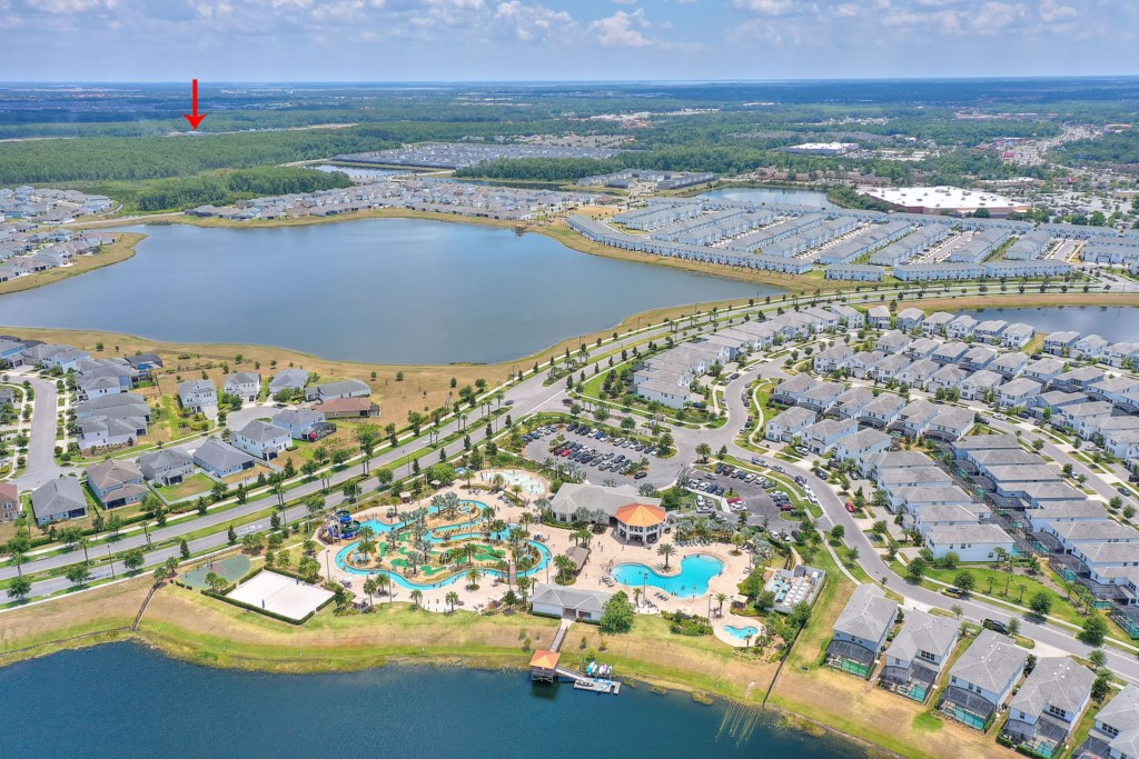 Most guests will choose to drive and park at the community facilities until the second water park is