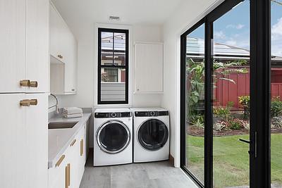 Laundry Room w/second refrigerator