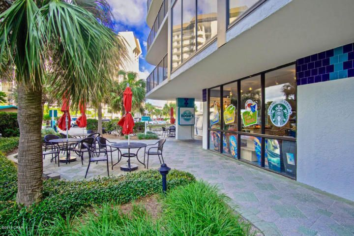 There is even a starbucks on property.