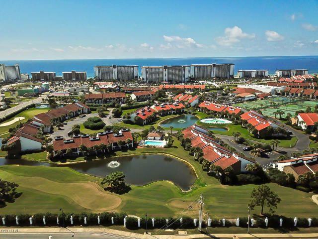 aerial view of Edgewater Beach Resort -