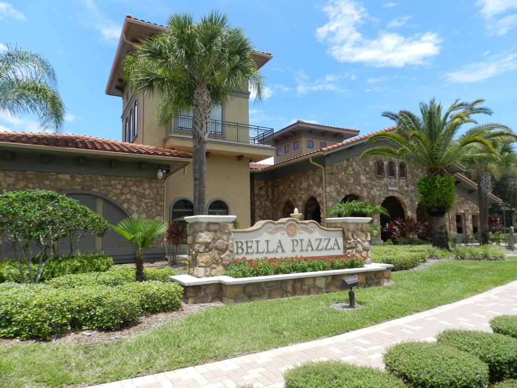 Enjoy All the Amenities of Bella Piazza