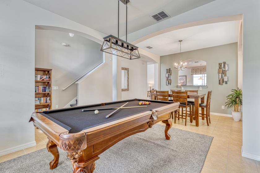 Luxury Indoor Pool Table