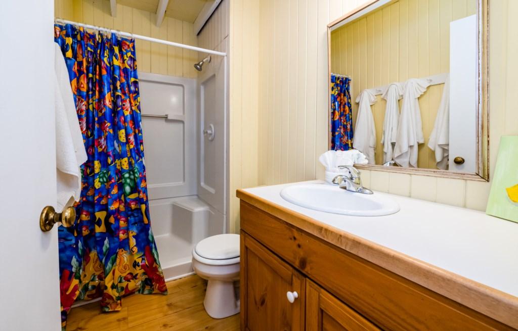 Coach House Full Bathroom