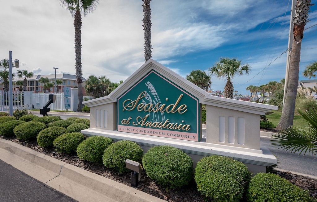 Seaside at Anastasia is a gated condo community in St Augustine Beach