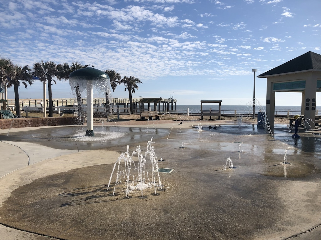 Splash Park located at The St Johns County Pier