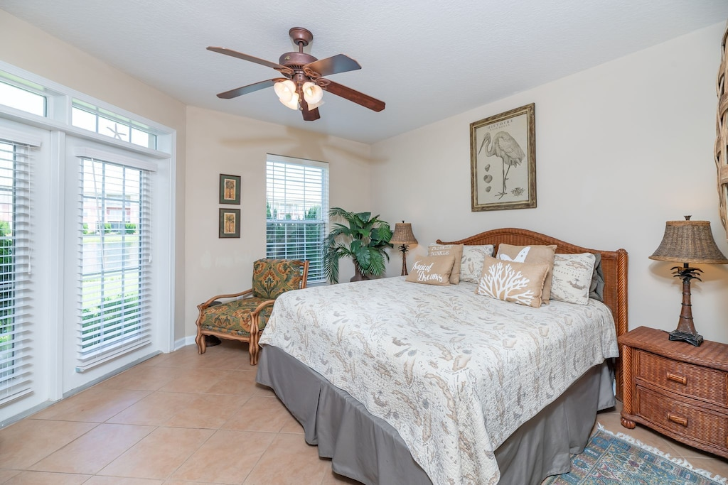 Master Retreat with a King size bed