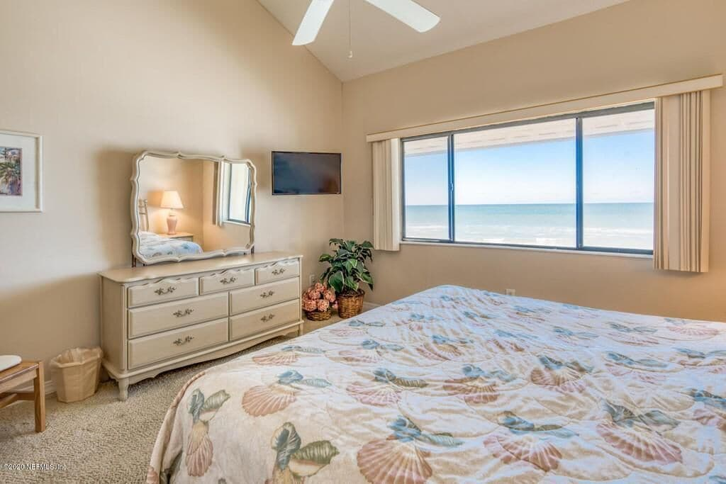 Ocean views from the Master Suite