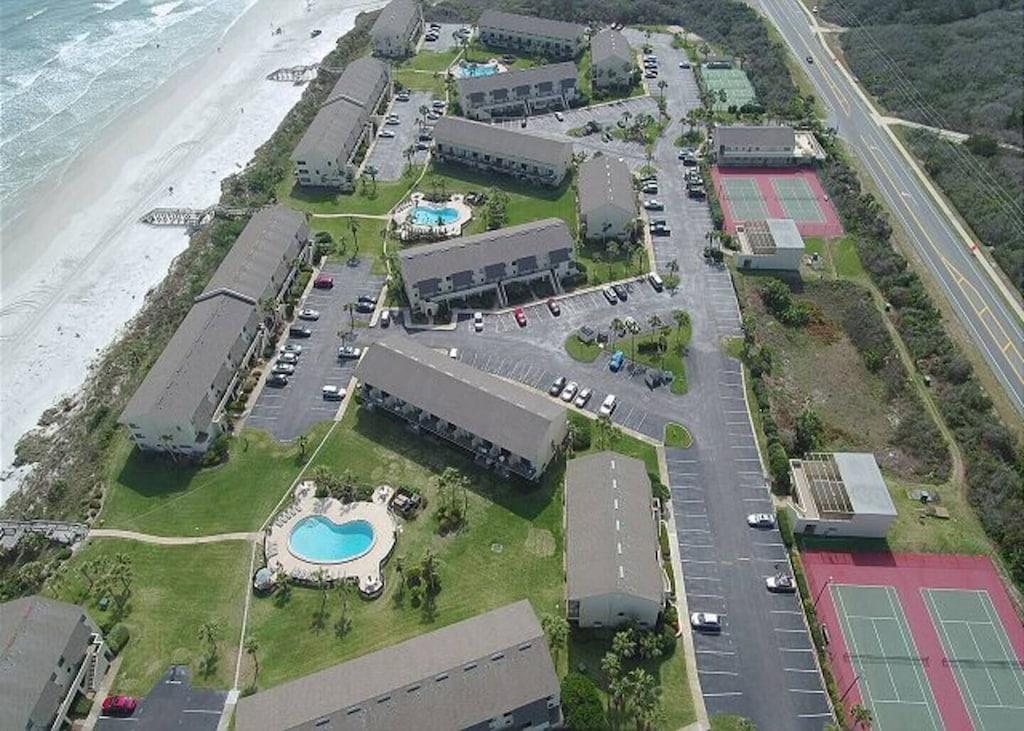 Aerial View of Condo Complex