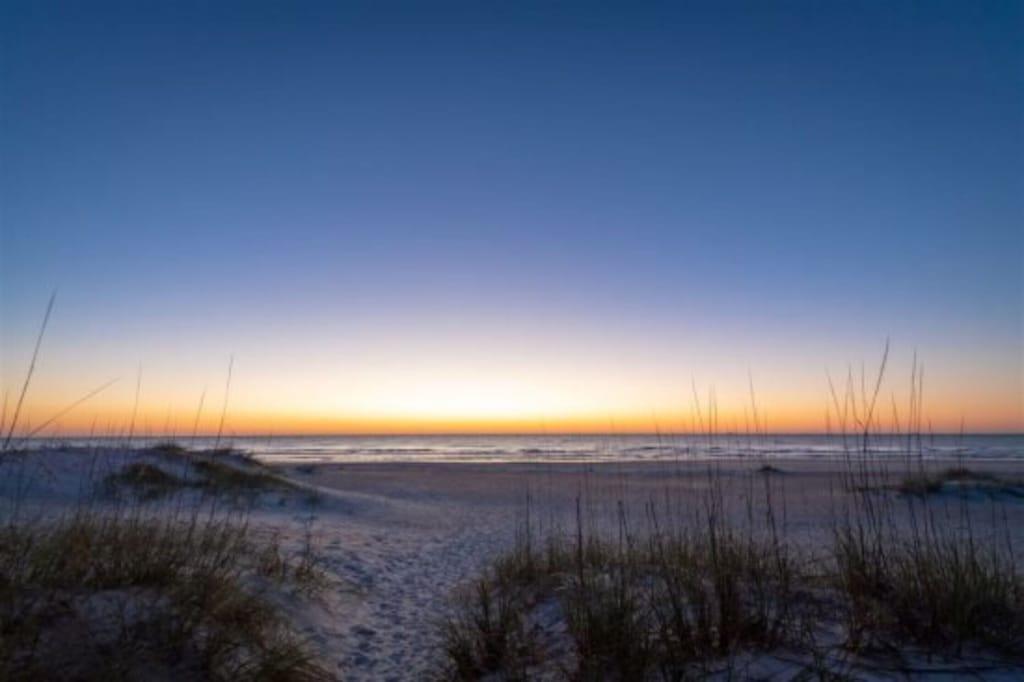 St Augustine Beach Sunrise