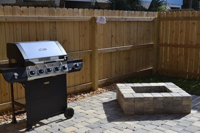 Fire Pit for Smores, Grill for Shrimp Kabobs