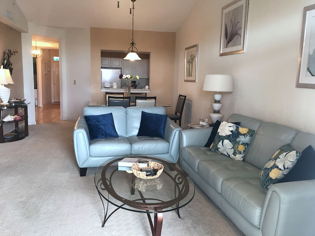 Living Room with comfortable seating