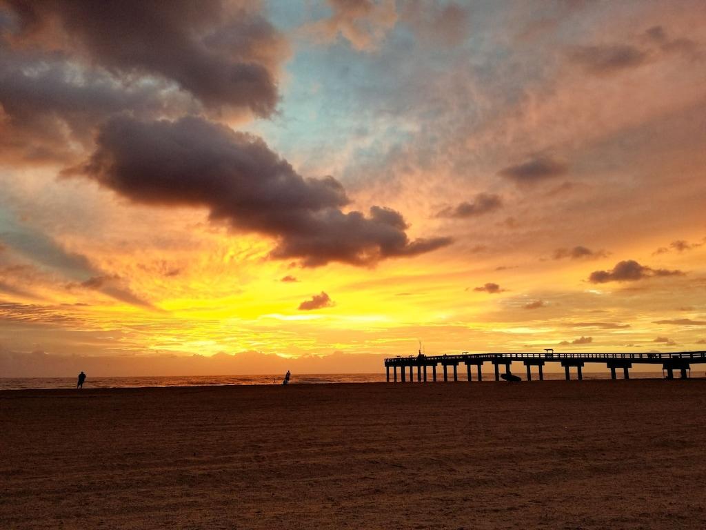 Sunrise on St Augustine Beach