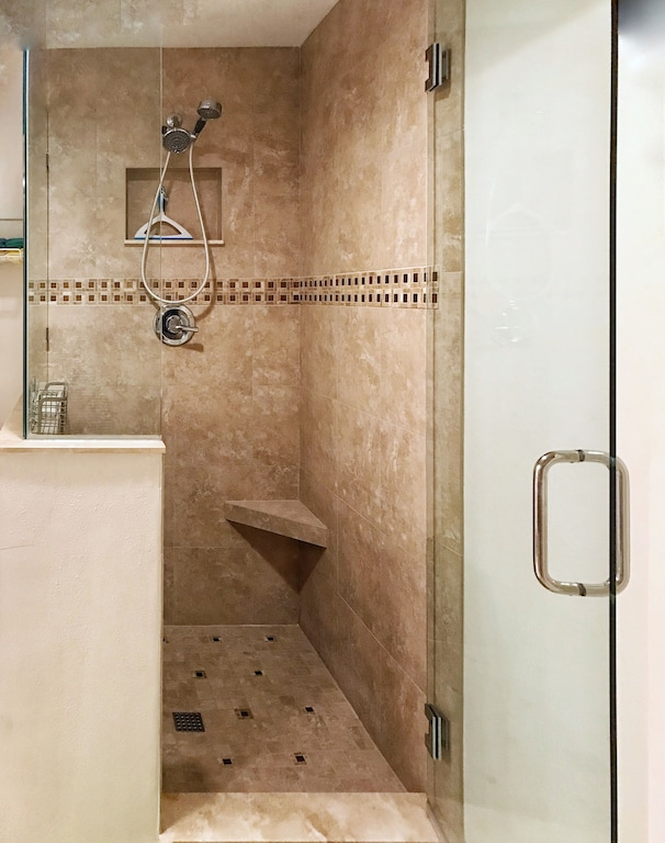 Large Deluxe Shower