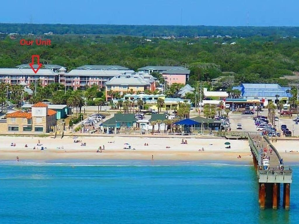 Aerial View of the St Johns County Pier