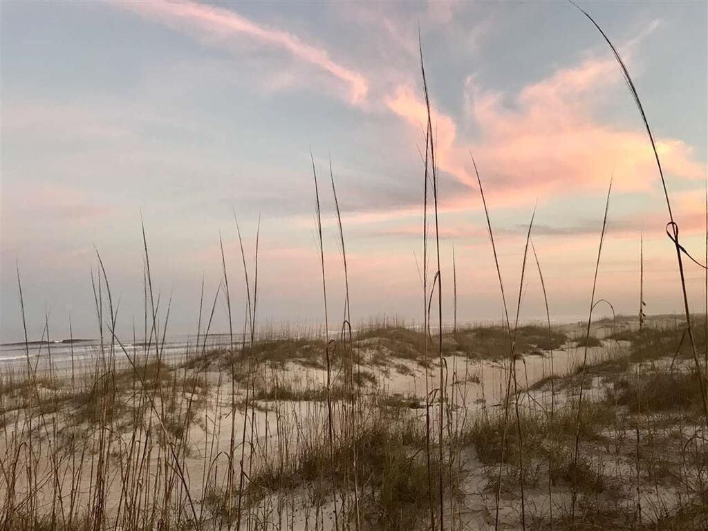 Enjoy a sunset walk on the beach