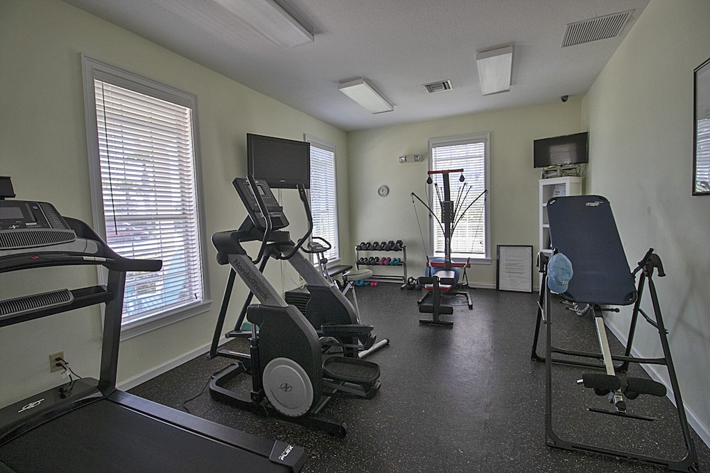 On site gym available for the guests