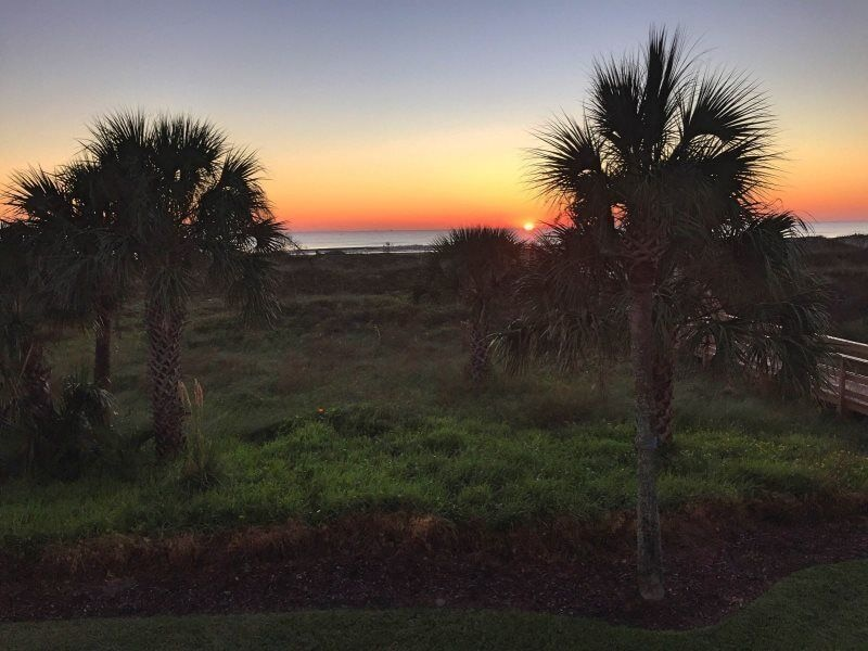 watch the sunrise every morning from Ponce Landing 7