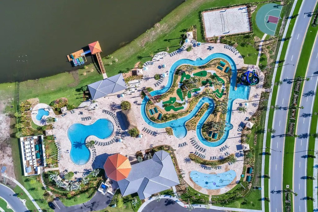 Resort Pool and Water Resort