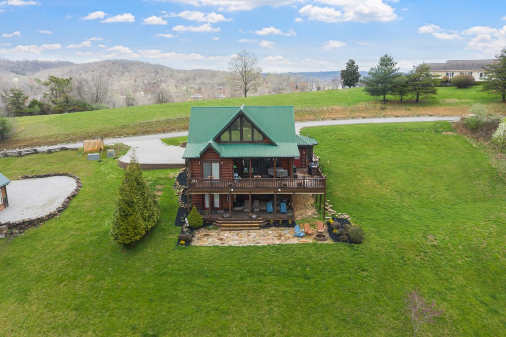 Back of House Aerial View
