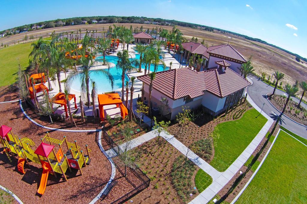 Clubhouse Playground & Pool